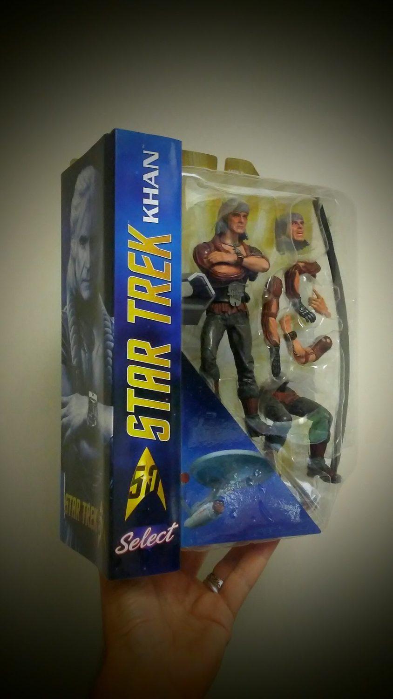 Diamond Select Toys Star Trek Select Khan Packaging Preview
