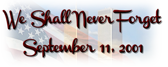 September 11th, 2001 – 15 Years Later