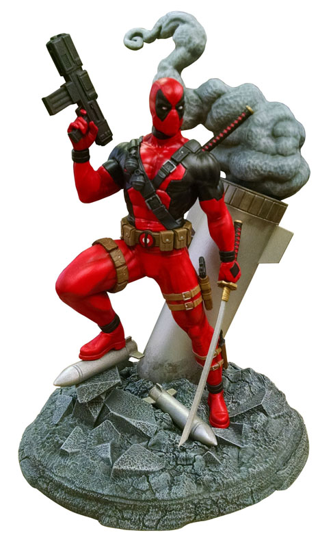 Diamond Select Toys Deadpool Model Kit, PVC Figure & Lost In Space Collectibles Announced