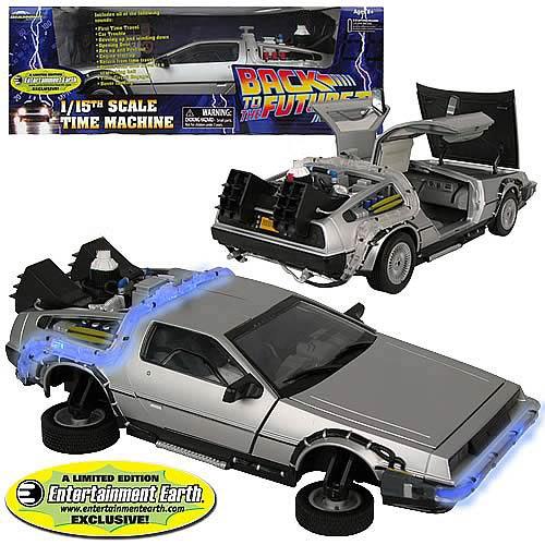 Diamond Select Toys Back To The Future II DeLorean Vehicle – Entertainment Earth Exclusive
