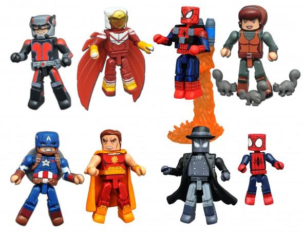Diamond Select Toys Marvel Animated Minimates Walgreens Series 3 Revealed