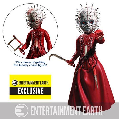 Living Dead Dolls Hellraiser III Pinhead Red Variant – Entertainment Earth Exclusive