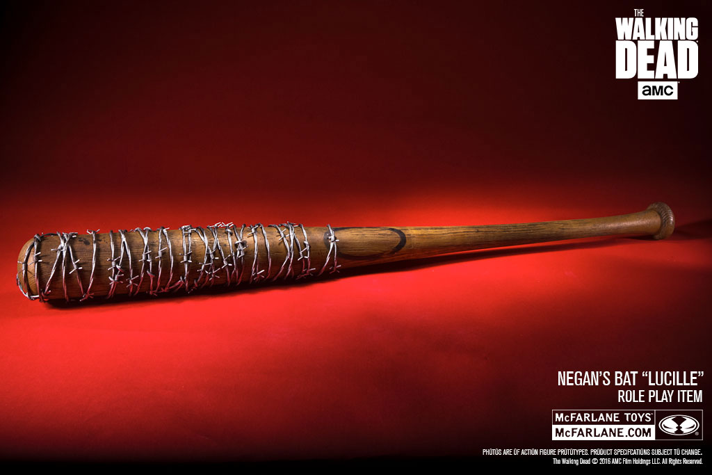 McFarlane Toys The Walking Dead Negan's Bat Lucille Prop Replica Official Details & Images