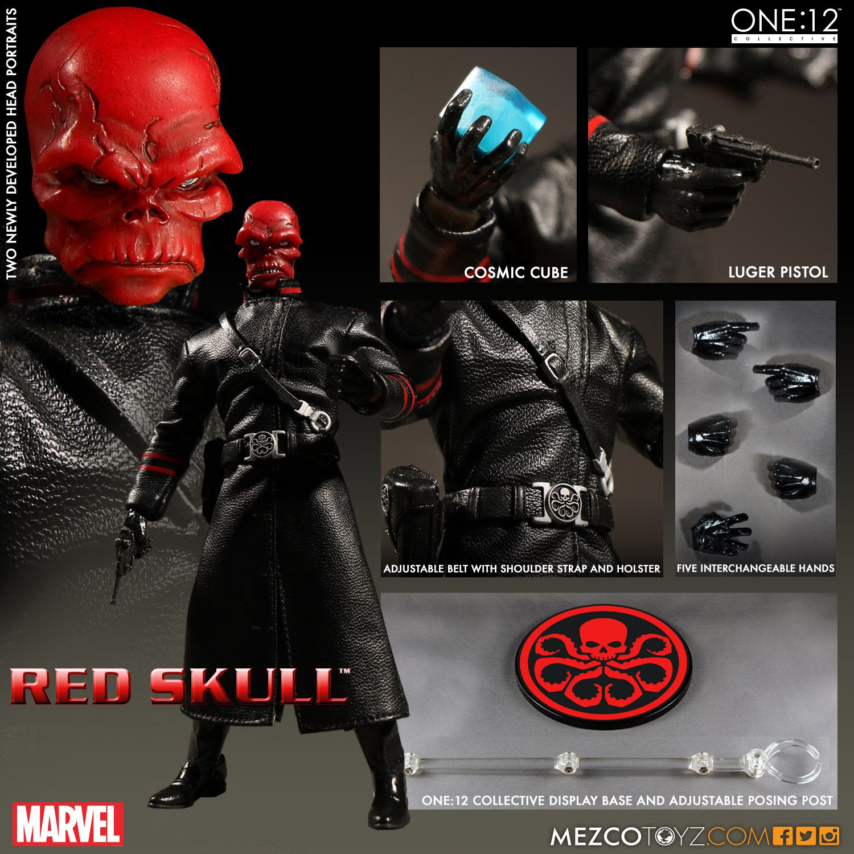 Mezco One:12 Collective Marvel Comics Red Skull Figure Pre-Orders