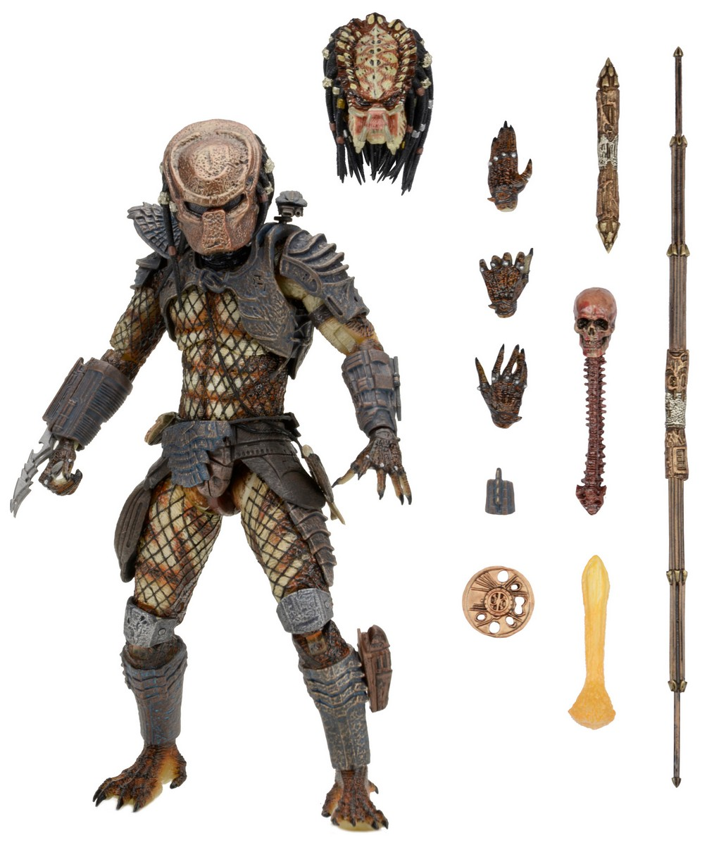 NECA Toys Predator 2 City Hunter Predator 7″ Figure Available Now