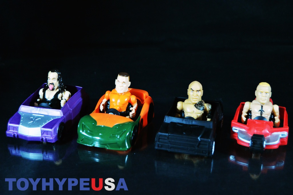 Playmates Toys WWE Nitro Sprints & WWE Nitro Machines Review