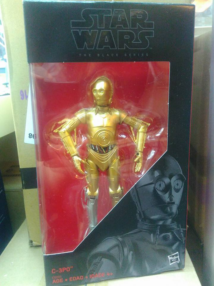 Star Wars The Black Series 6″ C-3PO Figure Hits eBay