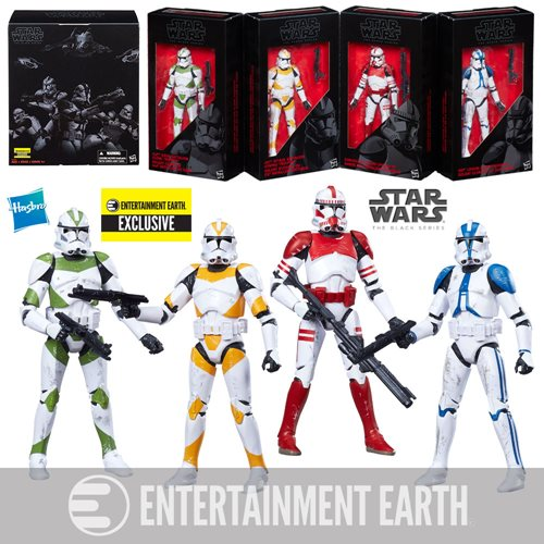 Star Wars The Black Series Clone Troopers Of Order 66 Exclusive Box Set Now $39.99
