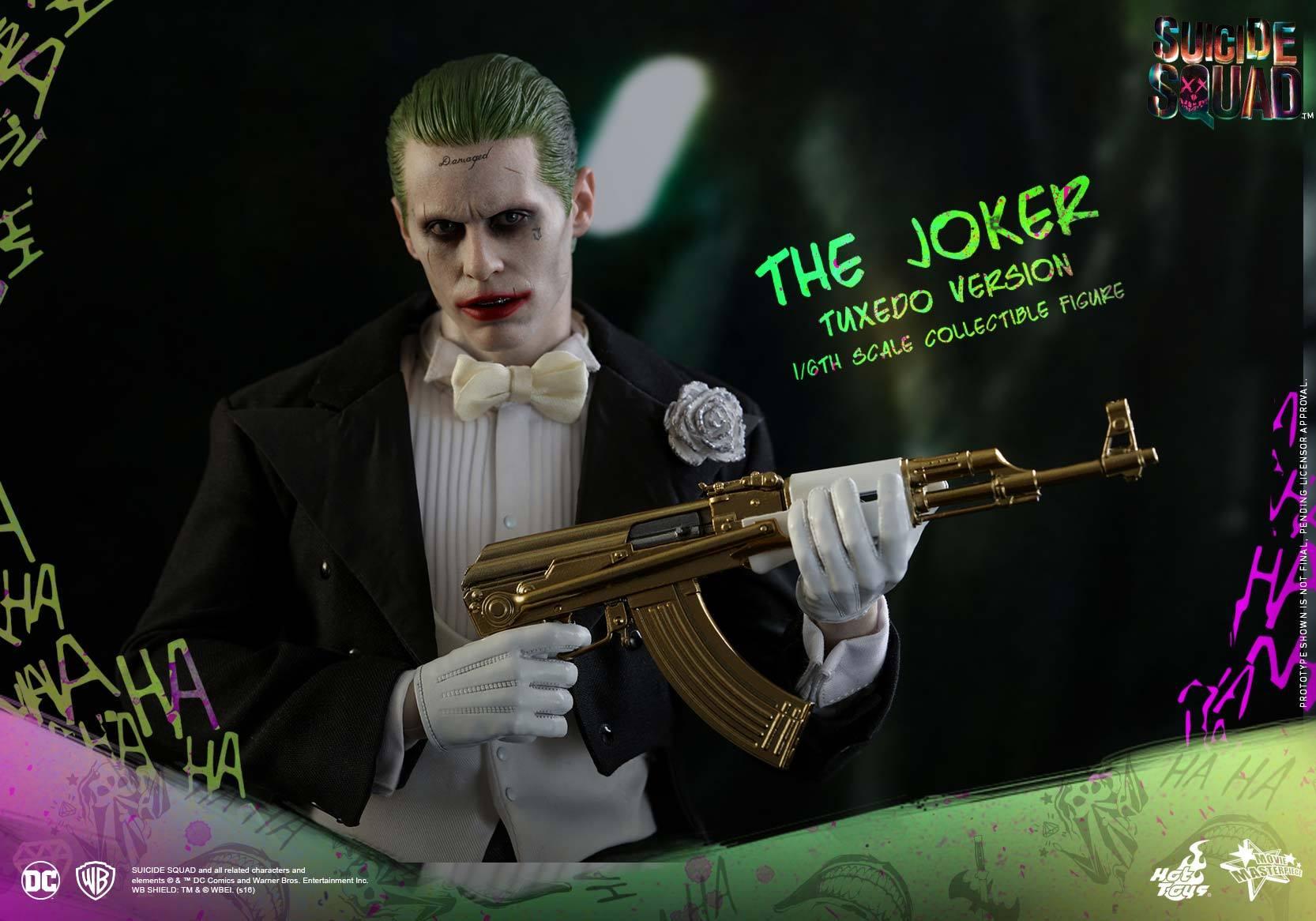 Hot Toys Suicide Squad – The Joker Sixth Scale Figure Tuxedo Version