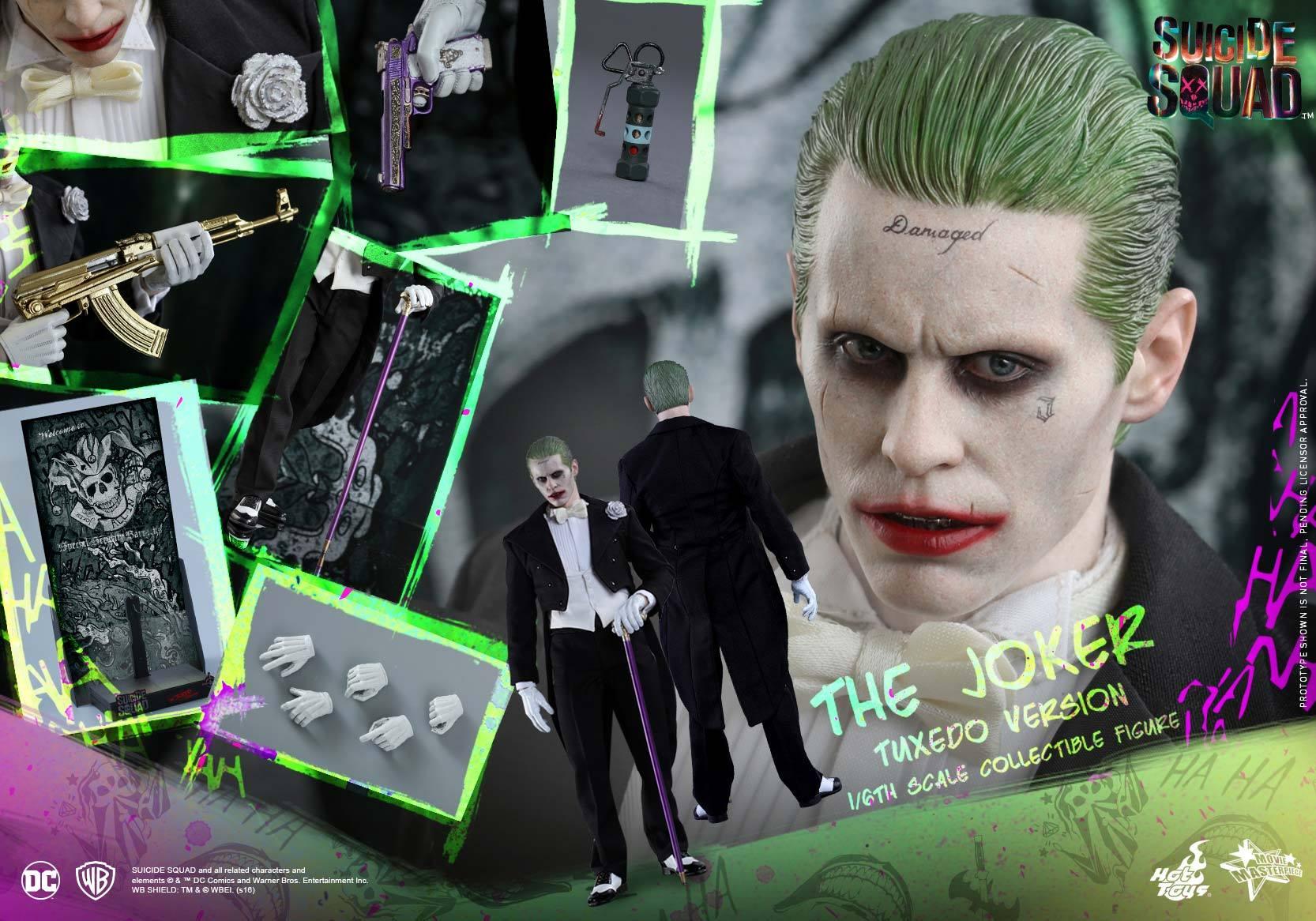 Hot Toys Suicide Squad – The Joker Sixth Scale Figure Tuxedo Version Pre-Orders