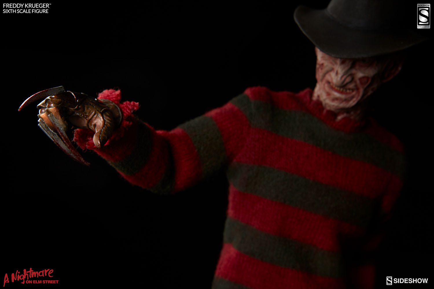 Sideshow A Nightmare On Elm Street Freddy Krueger Sixth Scale Figure Available Now
