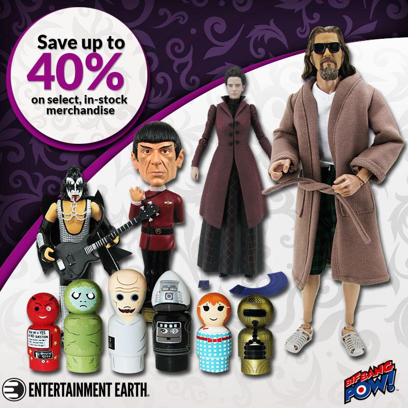 Entertainment Earth: Deadpool, Star Wars, DBZ & Bif Bang Pow! Sale