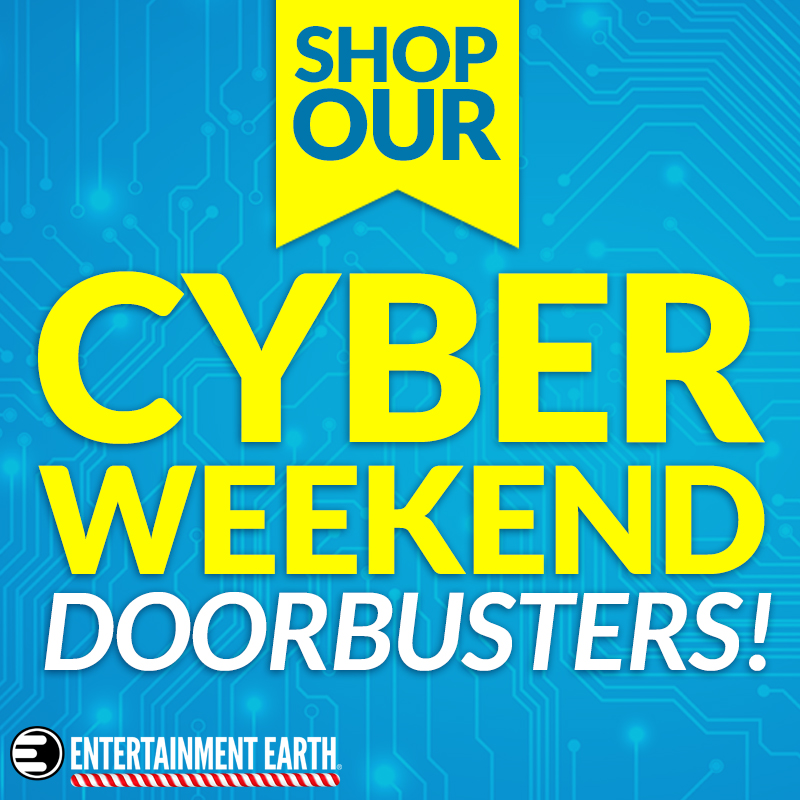 Entertainment Earth Launches Cyber Monday Sale – New Sale Items, New Doorbusters + Free Shipping