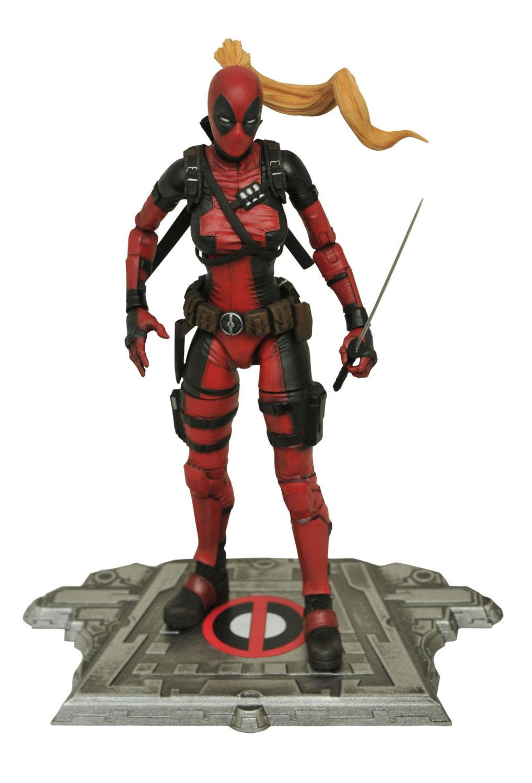 Diamond Select Toys Announces Marvel Select 7″ Lady Deadpool Figure