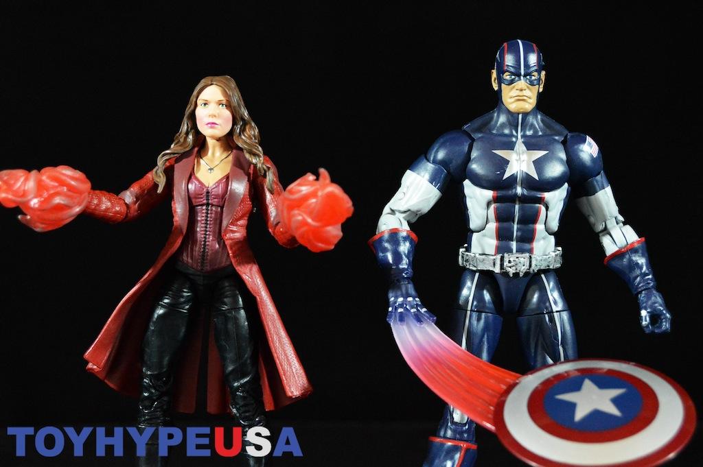 Hasbro Captain America: Civil War Marvel Legends 6″ Secret Wars Captain America & Scarlet Witch Review