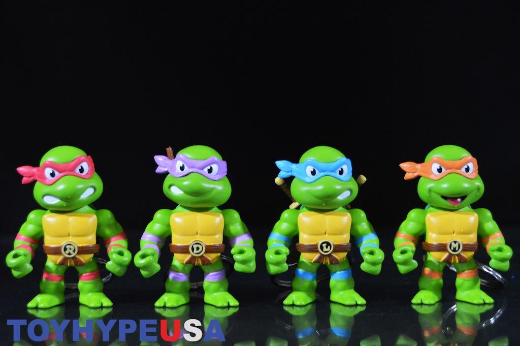 First-Look: Jada Toys Teenage Mutant Ninja Turtles Metals Die-Cast Keychain 2″ Figures Review