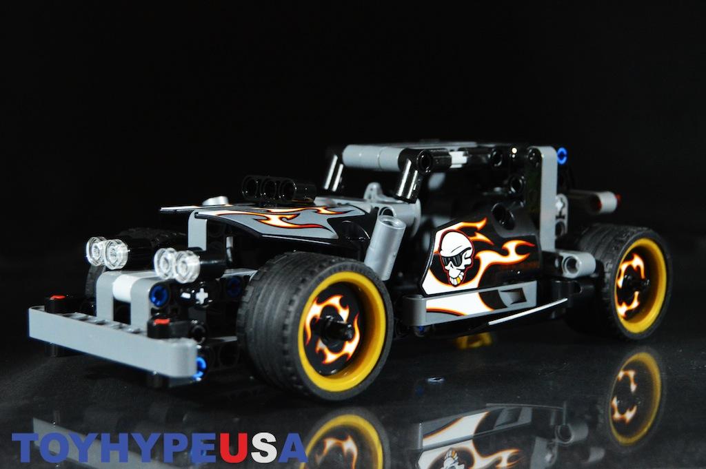 LEGO Technic 42046 Getaway Racer Set Video Demonstration & Review