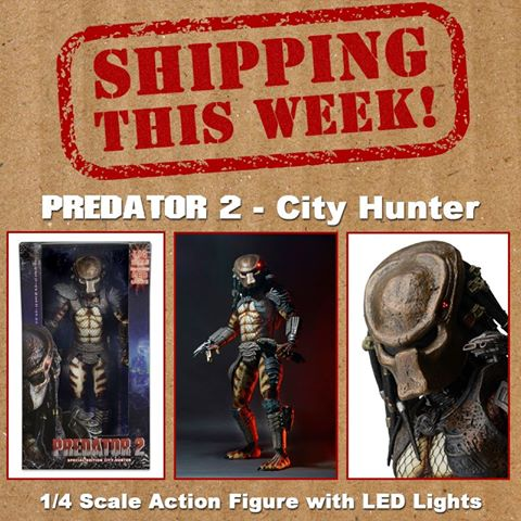 NECA Toys Shipping This Week: City Hunter Predator 1/4″ Scale Figure