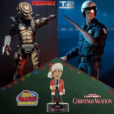NECA Toys Ultimate T-1000, City Hunter Predator & Christmas Vacation On Amazon & eBay Storefront