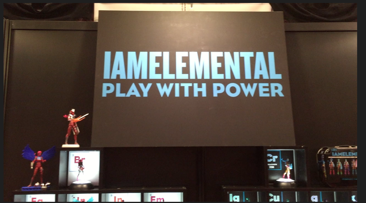 NYCC 2016 – I Am Elemental Video Interview With CEO Julie Kerwin