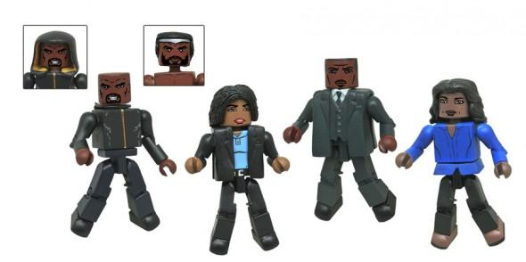 Diamond Select Toys Luke Cage Marvel Minimates Revealed & Shipping Updates