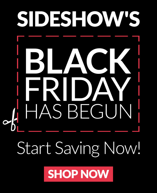 Sideshow Collectibles Launches Black Friday Sale
