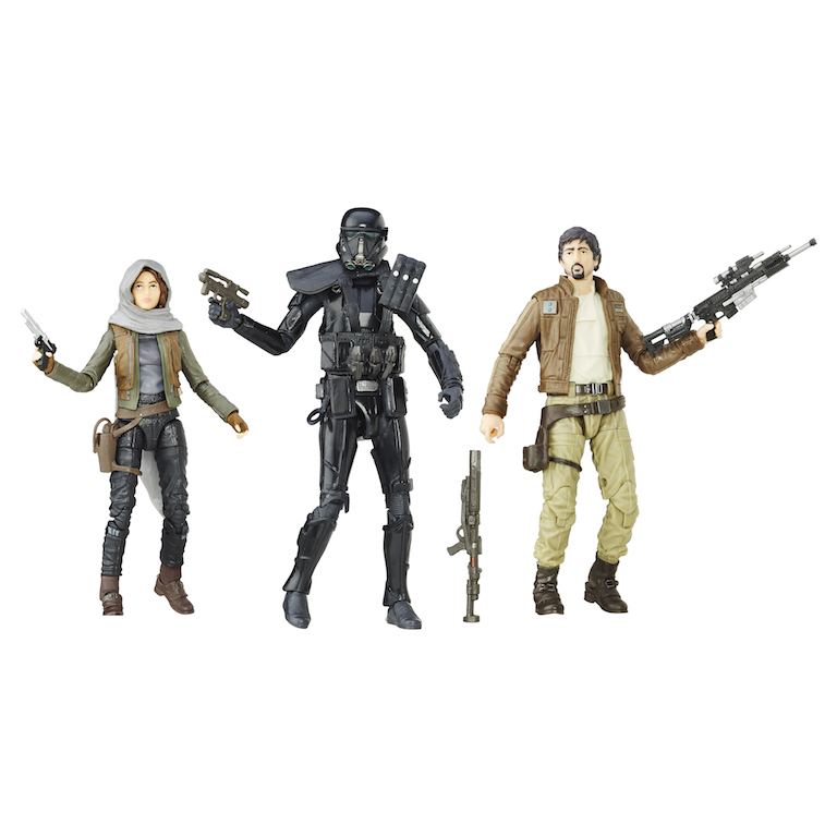 Star Wars Rogue One Black Series 6″ Figure 3 Pack Now $22 On Amazon