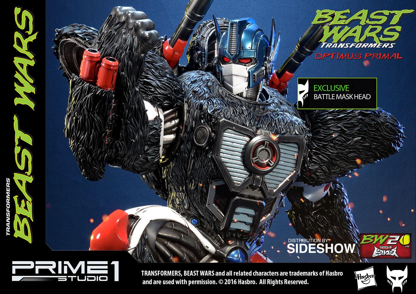 Prime 1 Studios Transformers Beast Wars Optimus Primal Statue Pre-Orders