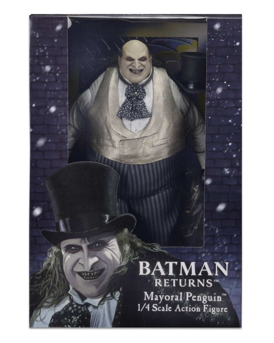 NECA Toys Closer Look: Batman Returns Mayoral Penguin 1/4″ Scale Figure