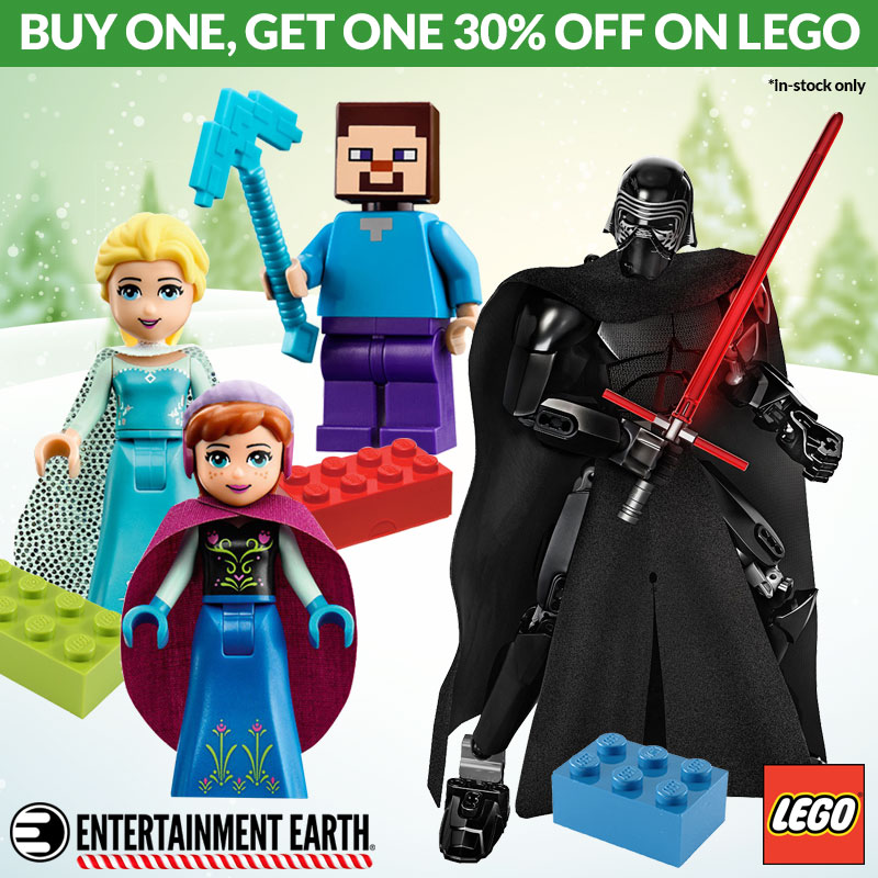 Entertainment Earth Offers BOGO LEGO Sale With 30% Off