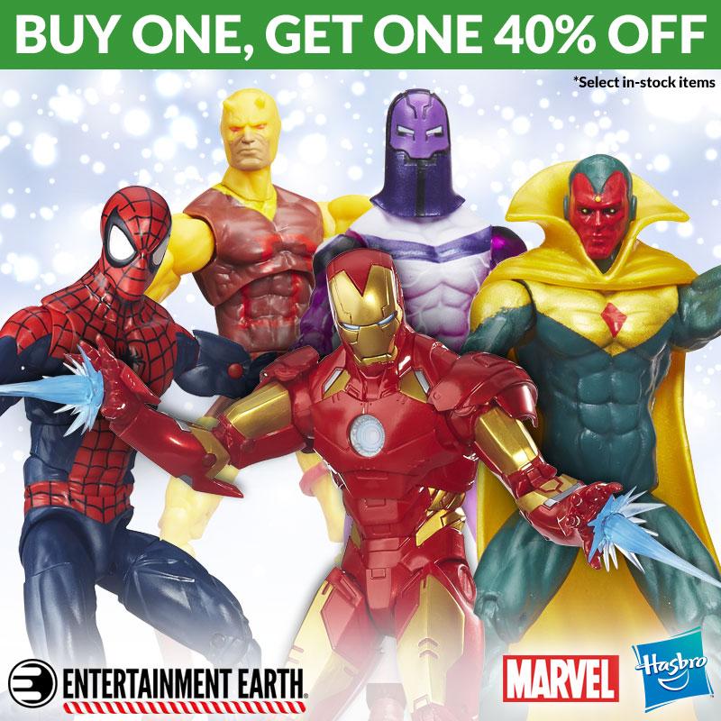 Entertainment Earth: Hasbro Marvel & Transformers BOGO Sale Ends December 13th