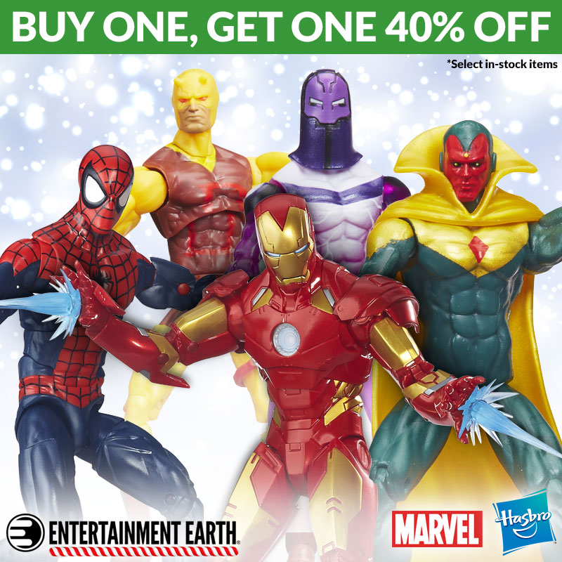 Entertainment Earth Marvel BOGO Sale Launched Again Until December 27th