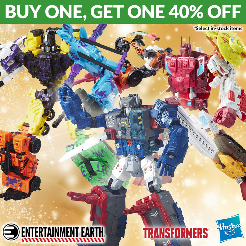 Last Day To Save 40% Off Transformers BOGO Sale At Entertainment Earth