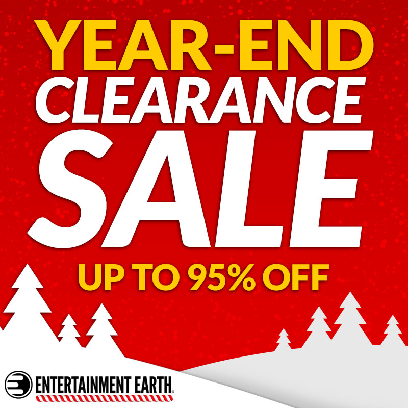 Entertainment Earth Launches Year-End Clearance Sale – Up To 95% Off
