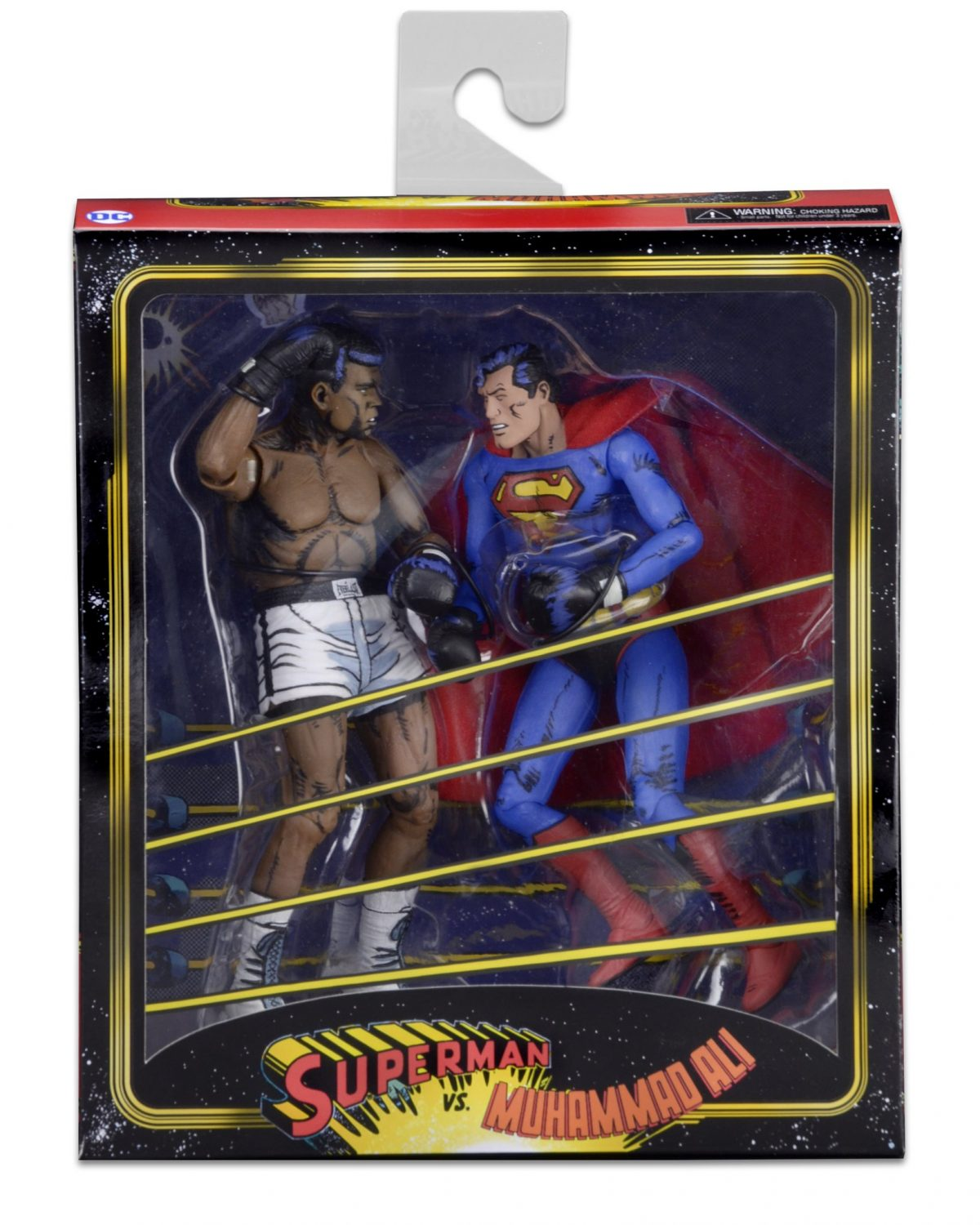 NECA Toys Muhammad Ali Vs. Superman Packaging Preview & More