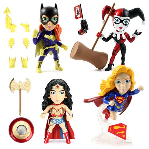 Jada Toys DC Comics Girls 6″ Wave 2 Metals Die Cast Figure Pre-Orders