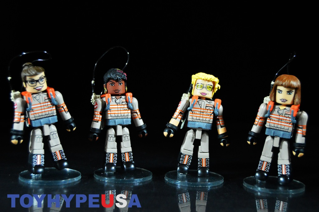 Diamond Select Toys Ghostbusters 2016 Minimates 2 Packs Series 1 Review