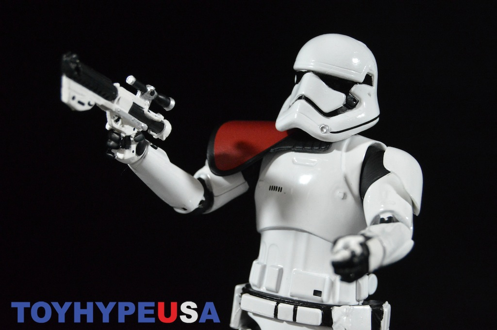 Disney Store Exclusive Star Wars Elite Series The Force Awakens First Order Stormtrooper Officer Figure Review