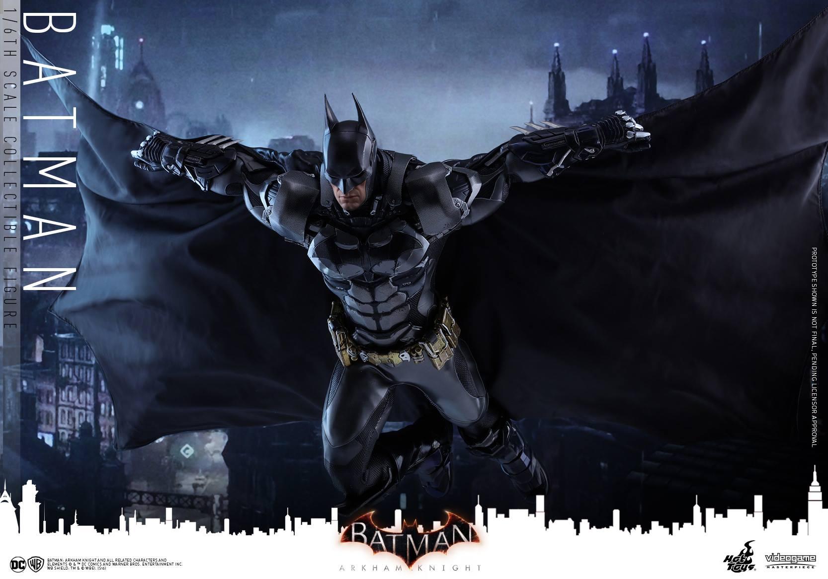 Hot Toys Batman: Arkham Knight Sixth Scale Figure Official Details