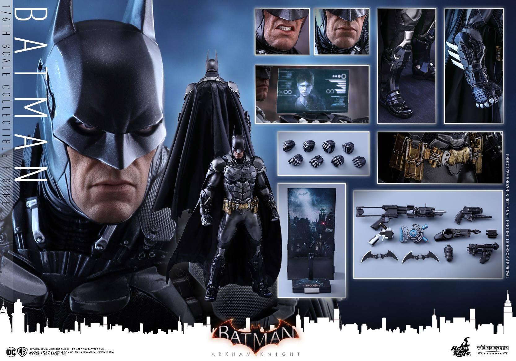 Hot Toys Batman: Arkham Knight Sixth Scale Figure Pre-Order
