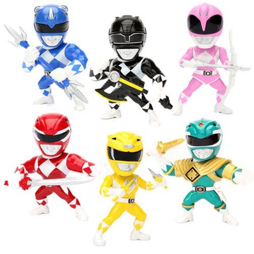 Jada Toys Power Rangers 4″ Metals Die Cast Figures Wave 1