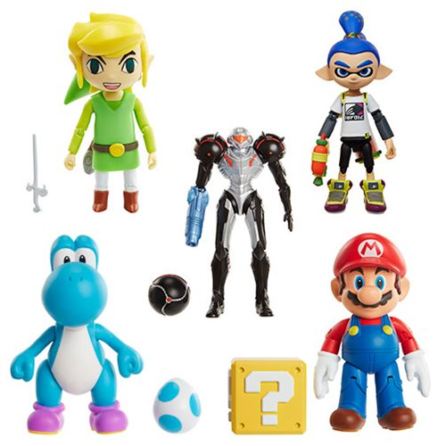 Jakks Pacific: World Of Nintendo 4″ Figures Wave 9