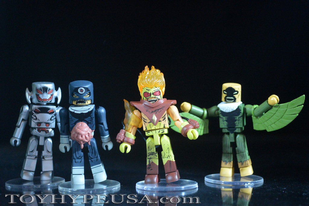 Marvel Minimates Villain Zombies Vs. Age Of Ultron Secret Wars Box Set Review