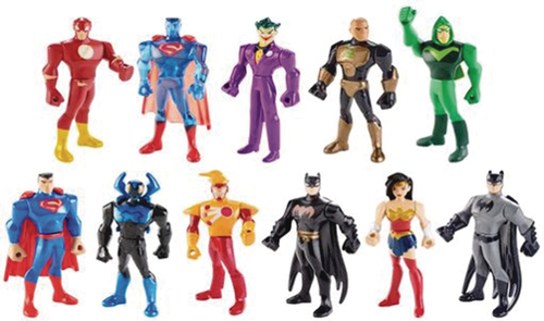Mattel Brings 2″ Justice League Animated Action Figures To The Market In 2017