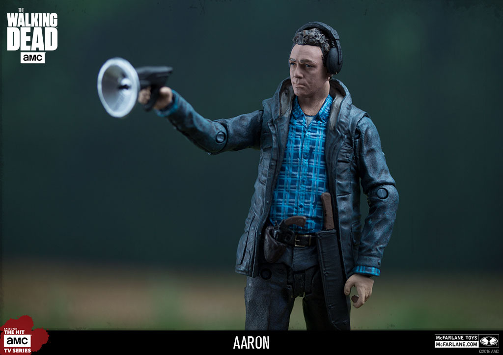 McFarlane Toys The Walking Dead Walgreens Exclusive 5″ Aaron Figure Official Images