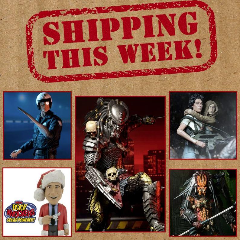 NECA Toys Shipping This Week: Aliens, Predator, Terminator 2 & Christmas Vacation