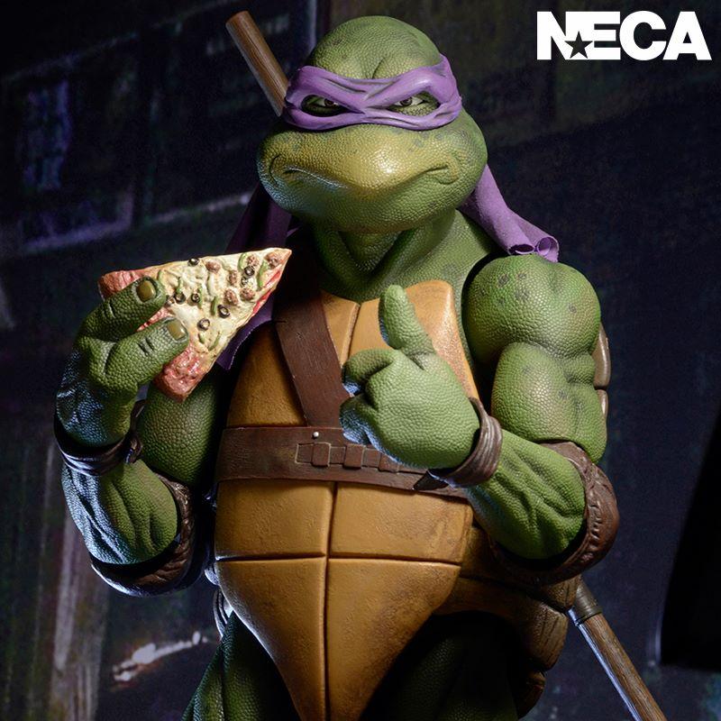 NECA Toys Teenage Mutant Ninja Turtles 1/4″ Scale Donatello Back On The Official Storefronts