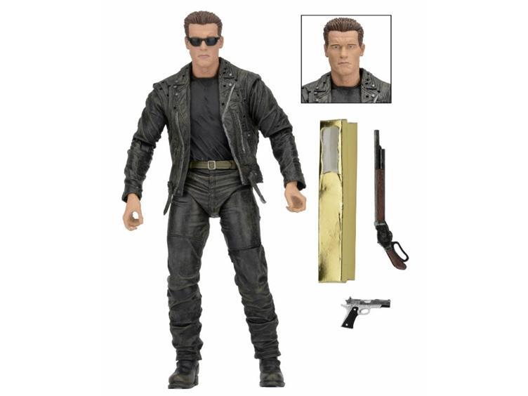 NECA Toys Terminator 2: 7″ Ultimate T-800 25th Anniversary 3D Release
