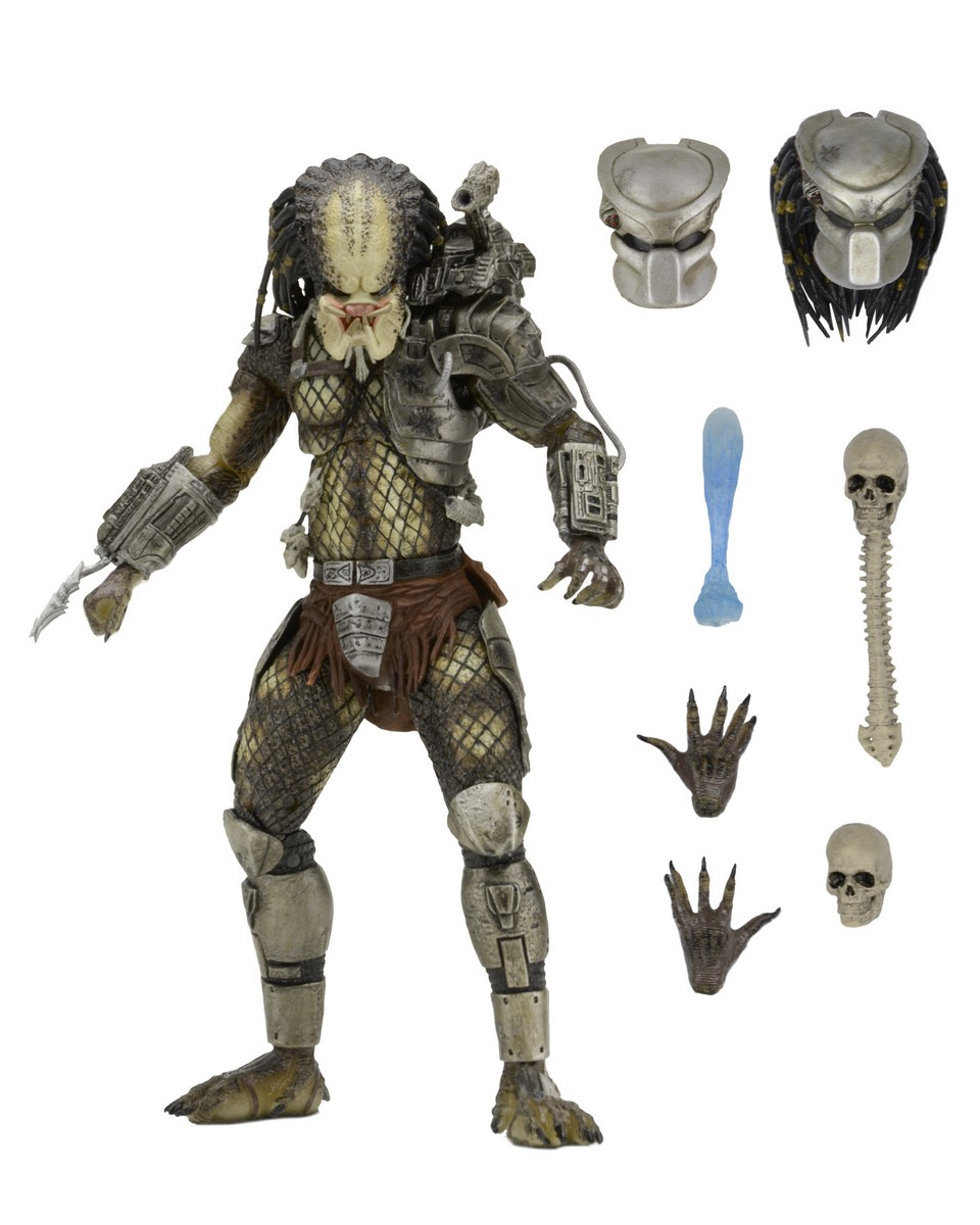 NECA Toys Ultimate Jungle Hunter Predator 7″ Figure Available Now