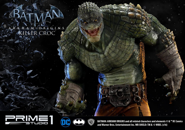 Prime 1 Studio Arkham Origins Killer Croc Statue Pre-Orders